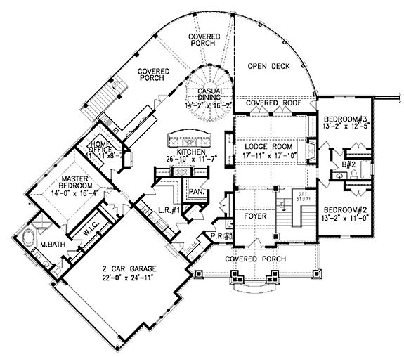 35 best floor plans images on pinterest home plans, coastal Coastal Ranch House Plans coastal home plans allatoona cottage coastal ranch house plans