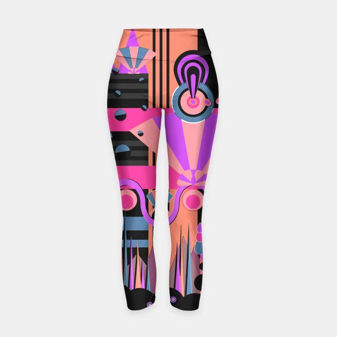 Art Deco Yoga Pants