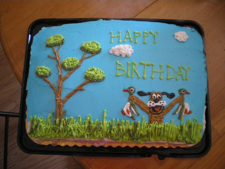 Another duck hunting birthday cake for my husband!!