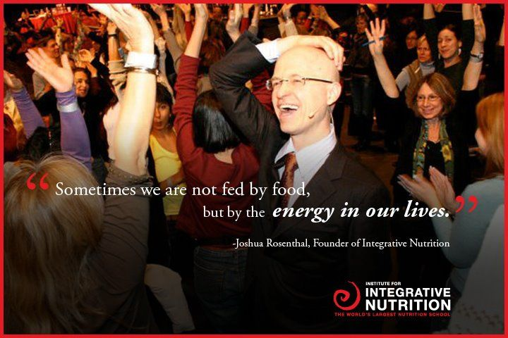 Joshua Rosenthal, Founder and Director of Integrative Nutrition
