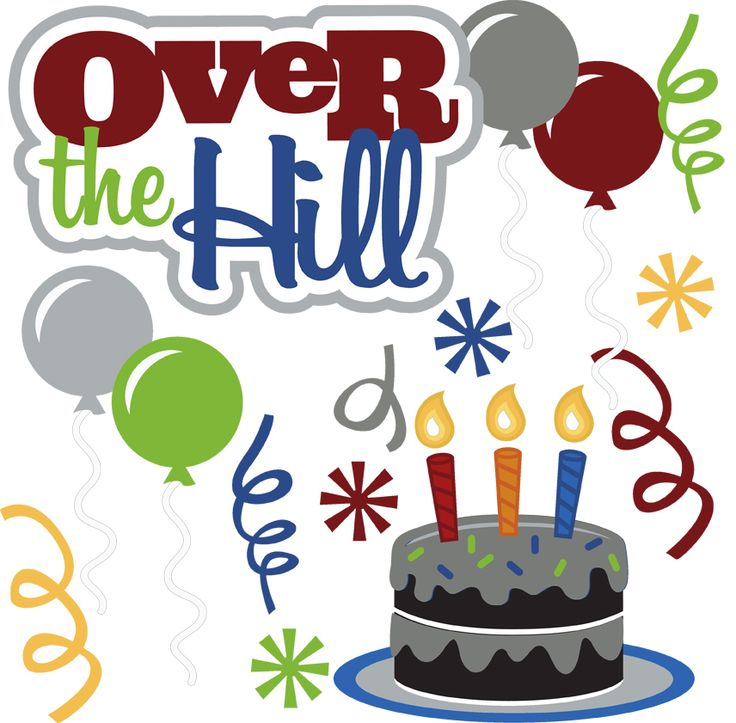 Happy Over The Hill Birthday Birthday Humor Dog Card: 80 Best Images About BirthdayBash:Aging On Pinterest