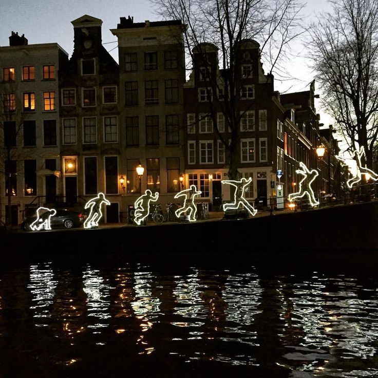 I enjoy every moment as I enjoy every picture. — Who doesn't jump over Amsterdam's streets. I do it...
