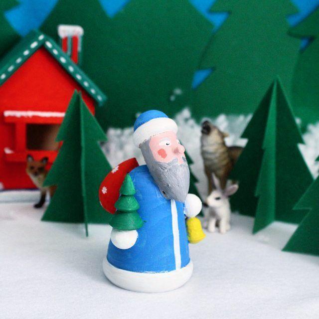 """Ну вот и закончен наш адвент! #адвент_сказка_для_тимки Видите? Дед Мороз прочитал Тимино письмо, собрал в свой мешок подарки (Тима внушал ему громко """"я хочу чучух!и дом!"""") и отправился в путь. А путь-то неблизкий, поэтому завтра в канун Нового года, в самый волшебный день 31 декабря ждем его в гости! Но уходя он оставил зверюшкам и Тиме последнее задание. Попросил присмотреть за домиком, а заодно разложить по местам все его рабочие инструменты и приспособления. Тиму ждал лист с…"""