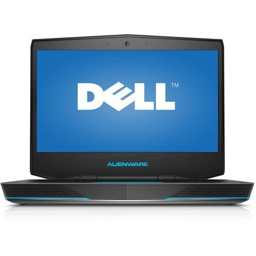 """Dell Alienware ALW14-2189sLV 4th Gen Core i5-4200M Dual-Core 1.6GHz 14"""" Notebook   General Features:  Microsoft Windows 7 Home Premium   Intel Core i5-4200M 2.5 GHz dual-core CPU w/Hyper-Threading  3.1 GHz Max Turbo Frequency  8GB DDR3 RAM  500GB SATA hard drive  DVD±RW drive  NVIDIA GeForce GT 750M 2 GB GDDR5 Graphics   Built-in 2MP Full HD Webcam and microphone  Gigabit Ethernet 10/100/1000Mbps  802.11b/g/n Wireless LAN  Digital Media Card Reader  14 """" Full HD widescreen display (1920 x…"""