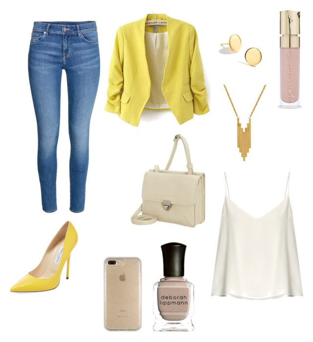 Casual outfit Yellow