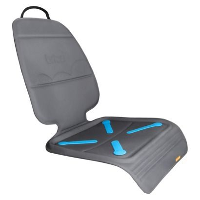 BRICA Seat Guardian™ Car Seat Protector -Gray to protect the runner's leather