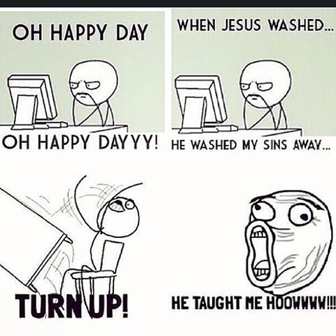 turnin-up-in-church  #Christian #Memes #Christianmemes