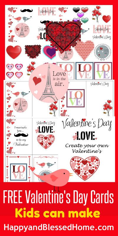17 Best images about Valentines Day and hearts Preschool Ideas on – Create Your Own Valentine Card Online Free