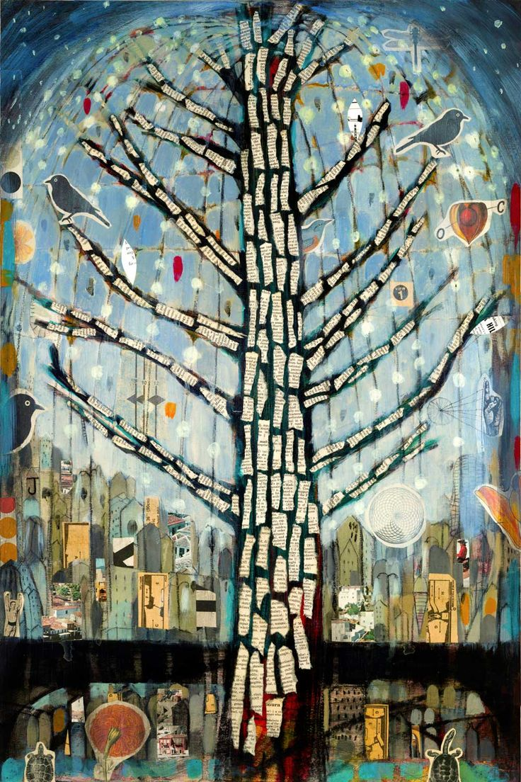 """Arbol con Luces 1"" by Judy Paul 