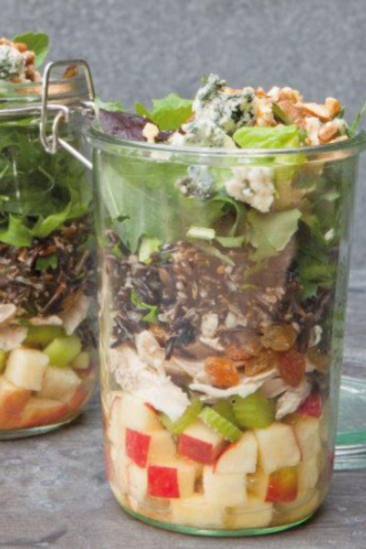 3 portable madon jar salad recipes