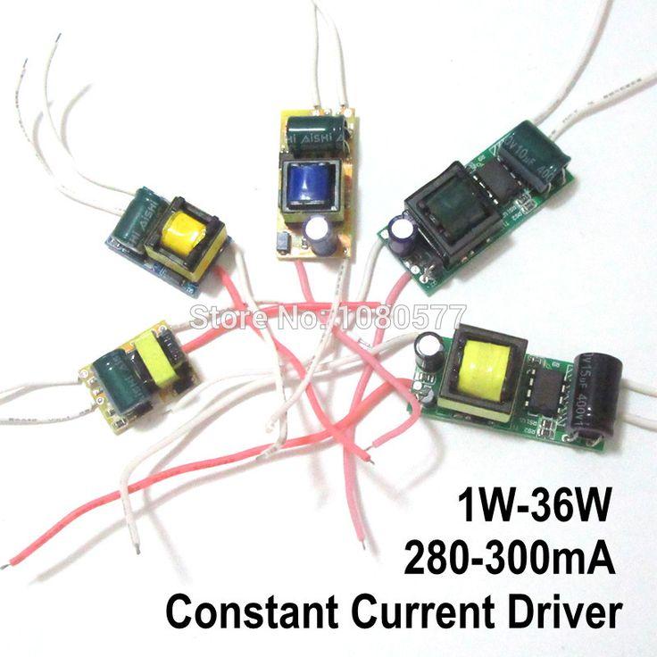 Luxury  st cke Led treiber Konstantstrom Lampe Stromversorgung mA mA Watt Watt Watt
