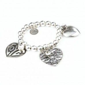 Bibi Bijoux large heart bracelet