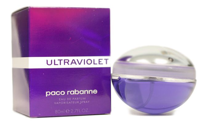 Launched by the design house of Paco Rabanne in 2000, ULTRAVIOLET PERFUME is classified as a refreshing, oriental, floral fragrance. Description from perfume-2003.com. I searched for this on bing.com/images
