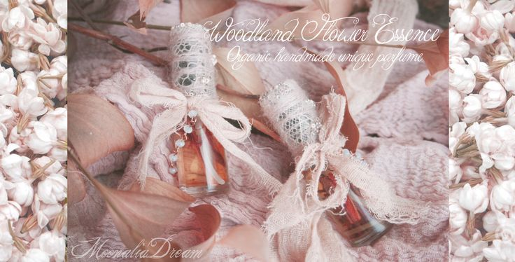 Organic and all natural handcrafted unique fairy parfume from Moonalia