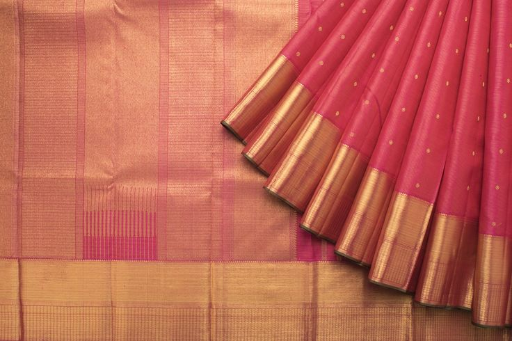 Kanakavalli Handwoven Kanjivaram Silk Sari 1016304 - Sari / Silk Saris - Parisera