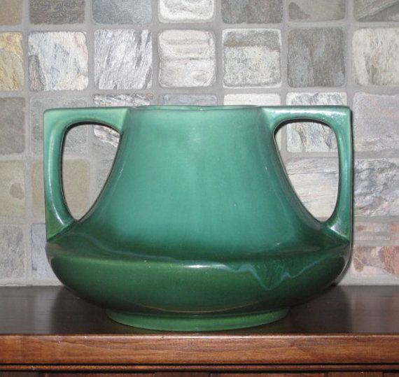 Haeger Pottery Even Vase, Vintage Arts and Crafts Deisign ...