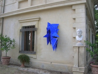 Giovanni's sculptures move, change, can be made to take different forms.