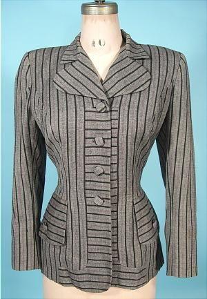 Jacket  Gilbert Adrian, 1940s  Antique Dress