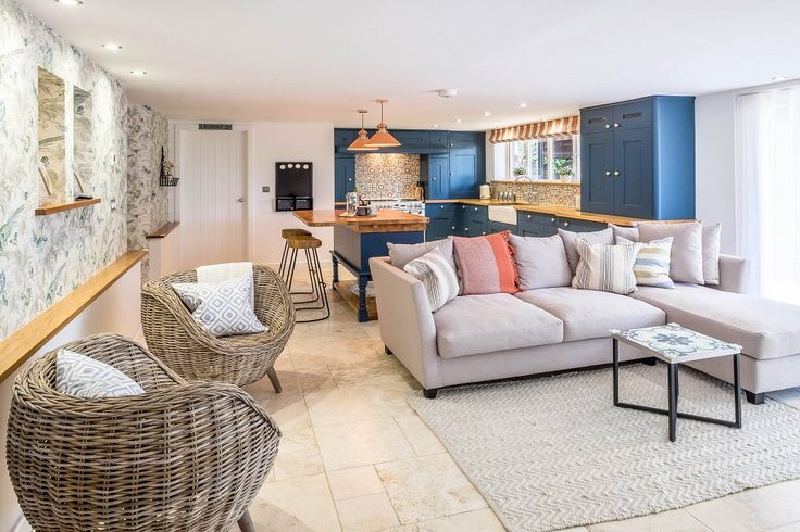 Dorset Holiday Cottage: Open plan kitchen   Photography Richard Gosler, Pixelhaus Studios Ltd
