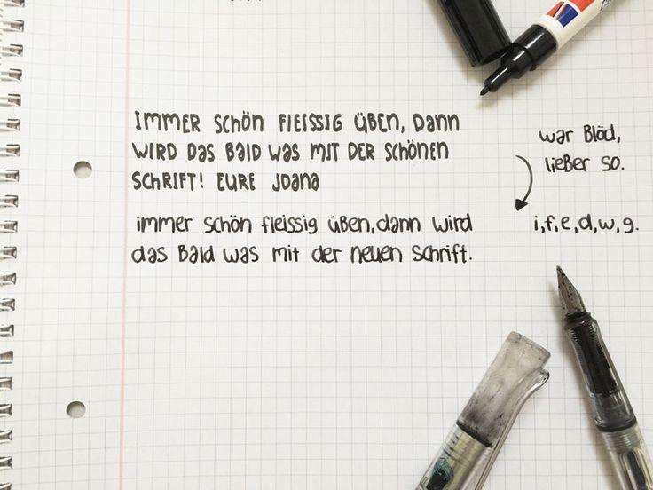wir zeigen euch wie ihr eure handschrift ganz einfach verbessern k nnt vom richtigen stift ber. Black Bedroom Furniture Sets. Home Design Ideas