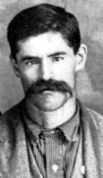 """Frank B. """"Pistol Pete"""" Eaton - (American author comboy scout Indian fighter Deputy U. S. Marchal) Known to be the Fastest Draw in the Indian Territory. He was such a quick draw that he could shoot a coin when it was thrown up in the air and shoot a hole in it before it hits the ground."""