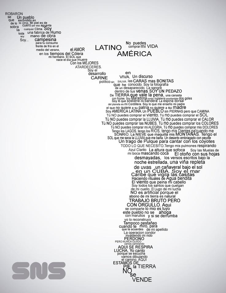 Letra de Latinoamerica - Calle13  Himno de Latinoamerica