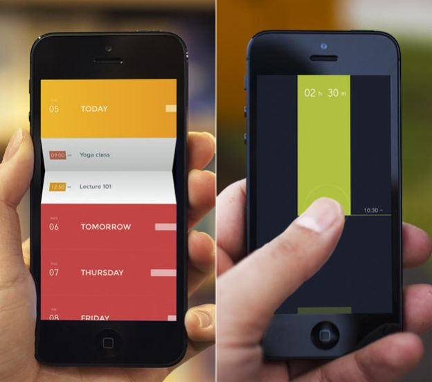 Cool, simple user interaction and pretty colors and typography!