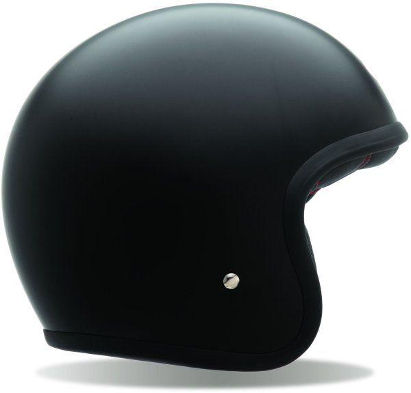 Bell Custom 500 Matt Black No Stud | The Helmet Warehouse