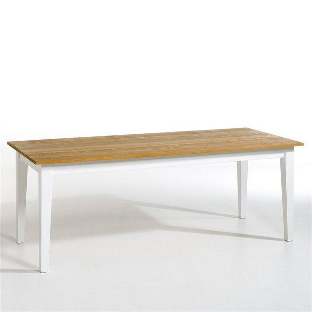 Table rectangulaire p querette plateau ch ne am pm prix avis notati - Grande table rectangulaire ...