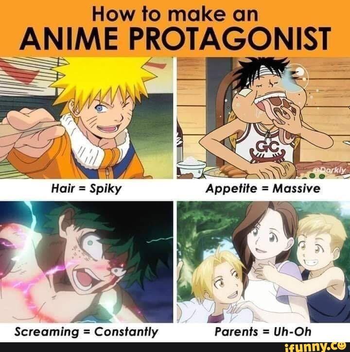 How To Make Cm Anime Protagonist Ifunny Anime Memes Funny Anime Funny Anime Memes