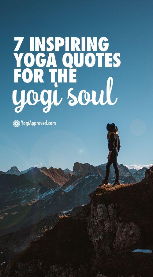 7 Inspiring Yoga Quotes for the Yogi Soul