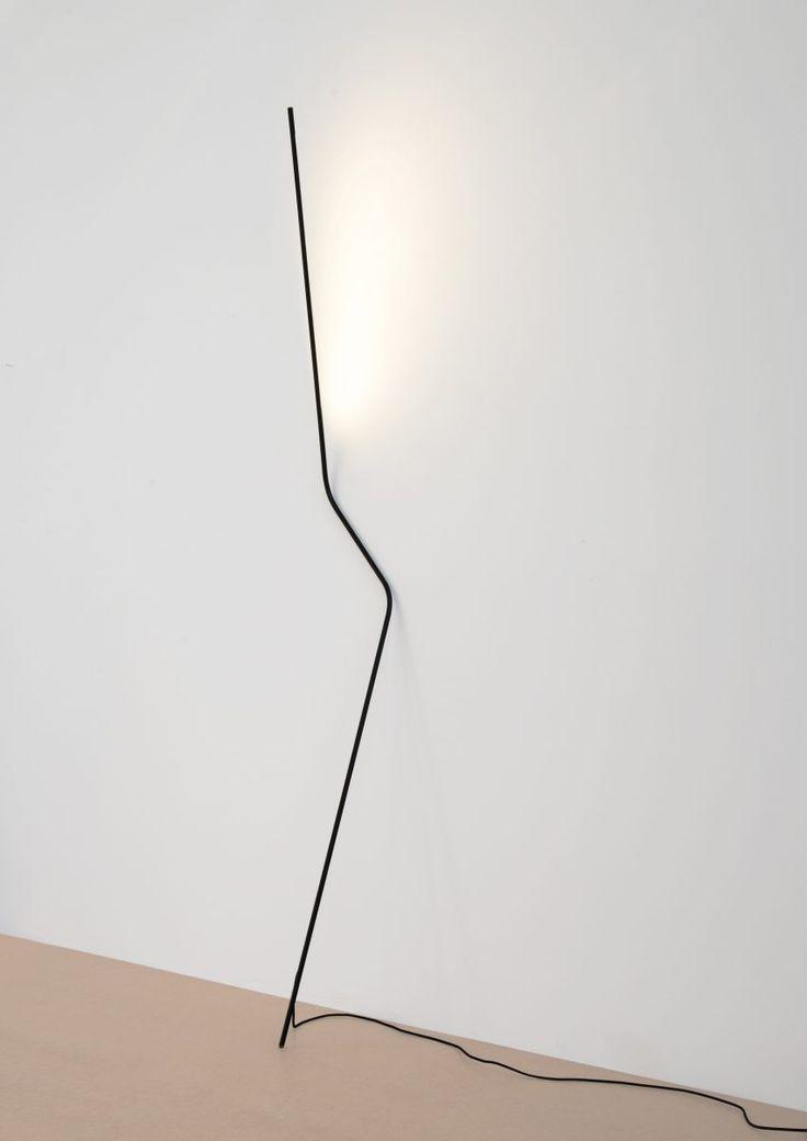 Rod bent in two places constitutes super-minimalist Neo light