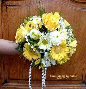 yellow gerber daisy wedding bouquets | Bouquet Bridal: Yellow Gerbera Wedding Bouquets