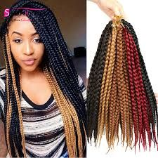 Image result for medium sized box braids