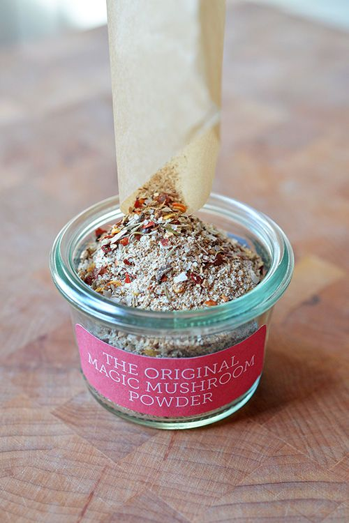 DIY Holiday Gift: The Original Magic Mushroom Powder by Michelle Tam http://nomnompaleo.com