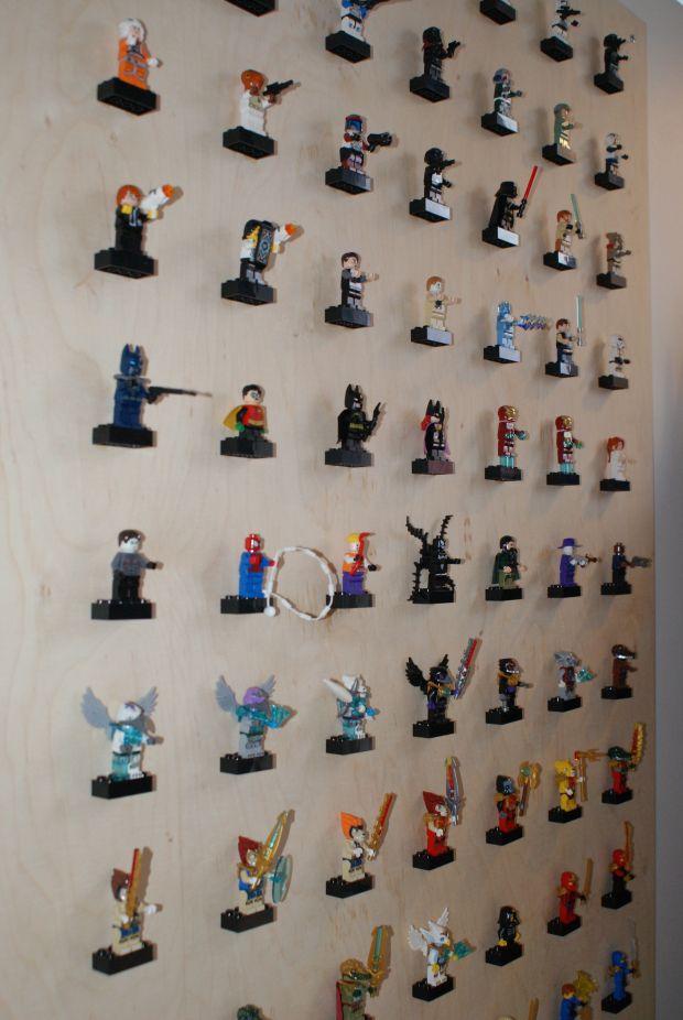 Legomænd på rad og række