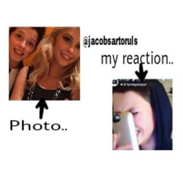Idek why I get so sad when I see a pic of Jacob with a girl