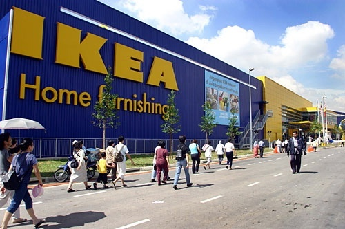 IKEA! The store that is like walking into Pinterest! We went to several of these in our travels.