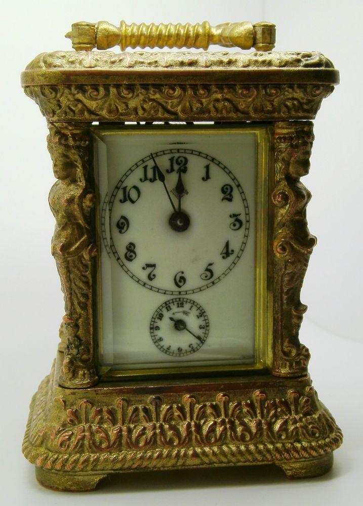 Antique Alarm Clock   Ansonia Astral 1904