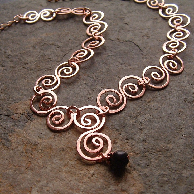 Hammered Wire Jewellery