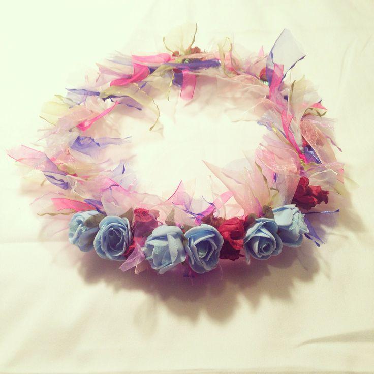 Coronas de Cumpleaños Fabricada a mano y con amor. I Love Lou / www.ilovelou.cl