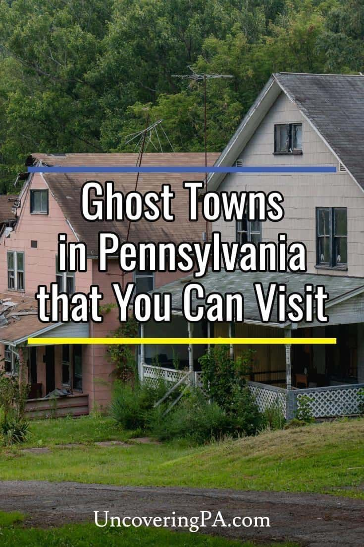 7 Ghost Towns In Pa You Can Still Visit With Images Pennsylvania Travel Ghost Towns Centralia