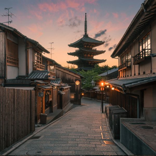 """Breathtaking Image is Being Called """"Most Beautiful Photo of Kyoto"""". Photo by Leslie Taylor."""