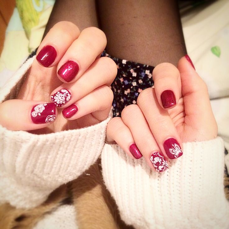 Delight Yourself :) #nailart