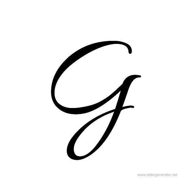 Cursive Letters Alphabet Gallery - Free Printable Alphabets ...