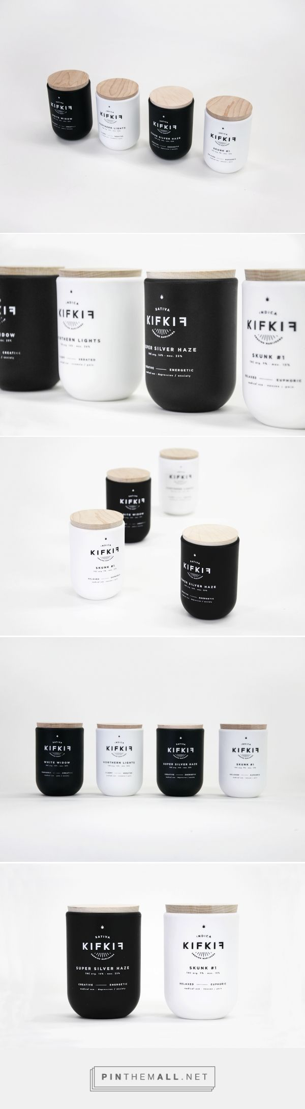 Kif Kif (Student Project) - Packaging of the World - Creative Package Design Gallery - http://www.packagingoftheworld.com/2016/05/kif-kif-student-project.html