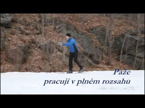 Video - škola běžeckého lyžování: Klasická technika – 2. díl - Škola běžeckého lyžování - BEZKY.net - Běžky, běh na lyžích