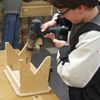 Kid's Woodworking Projects - Fine Woodworking Article - 3 different project for kids.  Simple and look pretty easy.