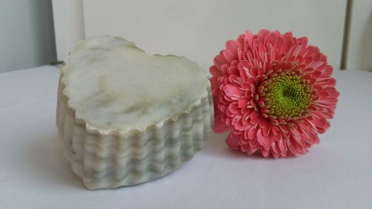 "Marbled soap with green clay, ""For Him"" by Eszti Szappanszertár"