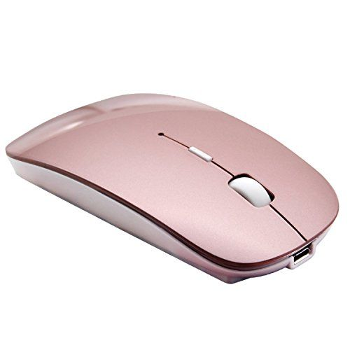 Tsmine Bluetooth Mouse Rechargeable Wireless Mouse, 5 Buttons for Notebook, PC, Laptop, Computer, Macbook 2017(NOT for iPhone or iPad) - Rose Gold   see more at  http://laptopscart.com/product/tsmine-bluetooth-mouse-rechargeable-wireless-mouse-5-buttons-for-notebook-pc-laptop-computer-macbook-2017not-for-iphone-or-ipad-rose-gold/